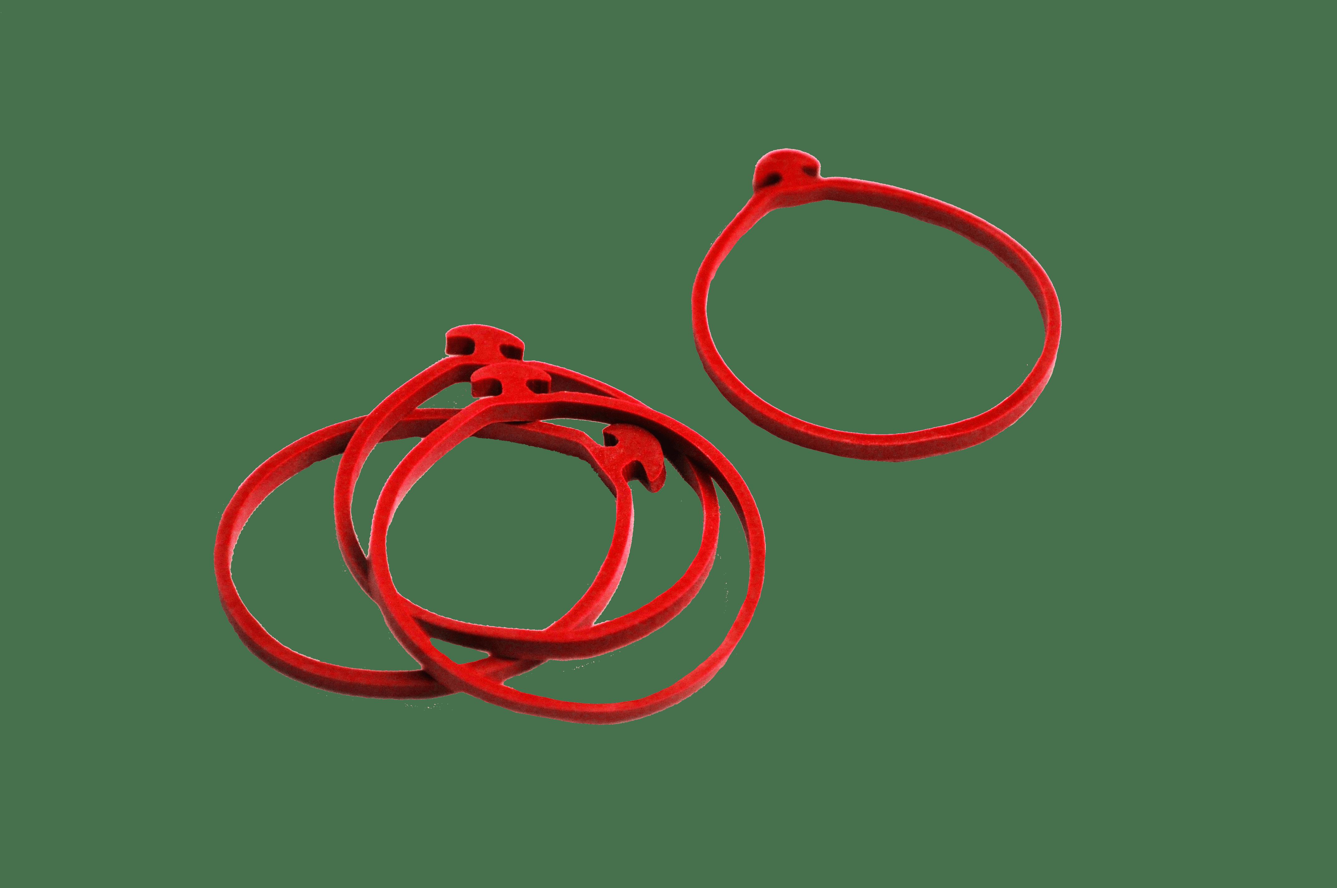 silicone anchor bands