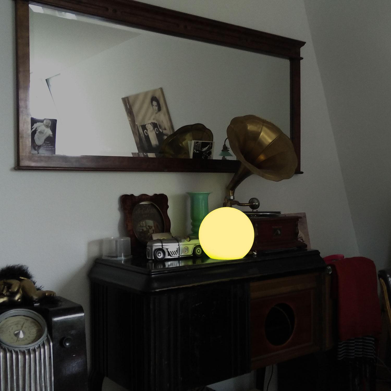 Kugelleuchte Wohnzimmer Led Kugelleuchte Innen Klarglas Mit