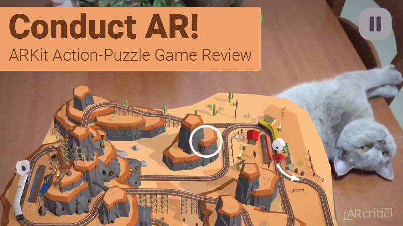 Conduct AR! Game Review (ARKit)