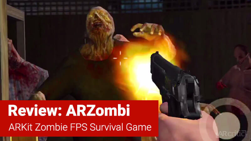 ARZombi game review banner