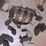 Hiding the virtual chest underneath the floor