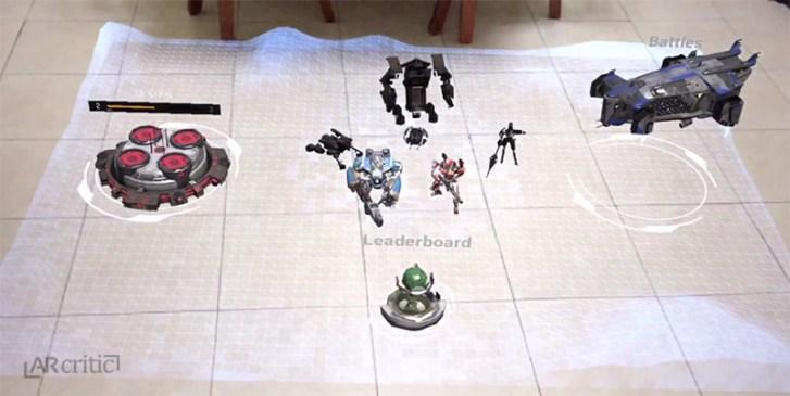 The Machines home screen screenshot