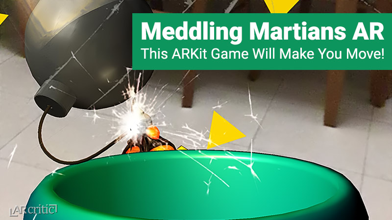 Meddling Martians AR