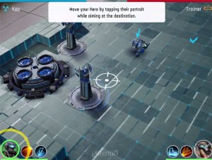 Tutorial screenshot from the game The Machines