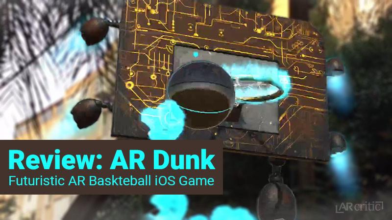 AR Dunk game