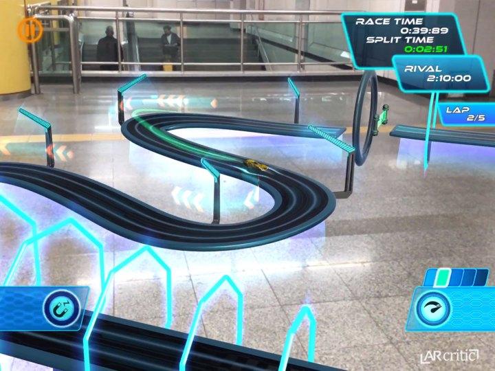 Beautiful futuristic sci-fi racing tracks!