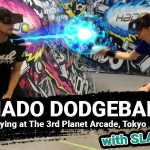 Hado Dodgeball AR arcade game