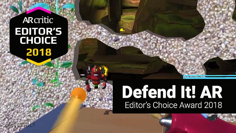 Defend It AR Editor's Choice Award
