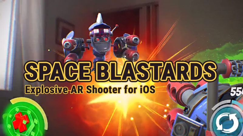 Space Blastards AR Shooter