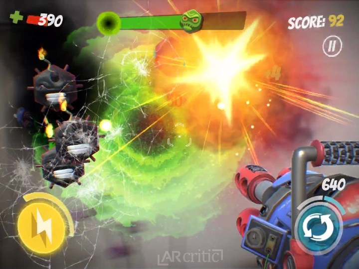 Space Blastards gameplay screenshot