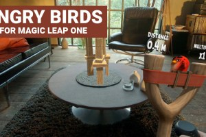 Angry Birds in Mixed Reality – Coming to Magic Leap!