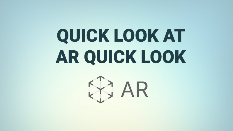 AR Quick Look