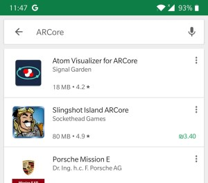 Google Play no sorting option