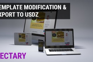 Vectary Guide: Template modification, USDZ export, View in AR