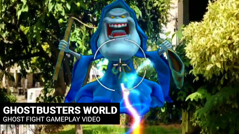 Ghostbusters World video gameplay screenshot