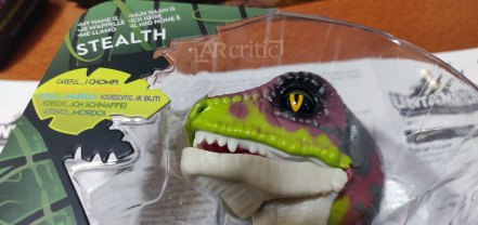 Stealth untamed fingerling head in the box