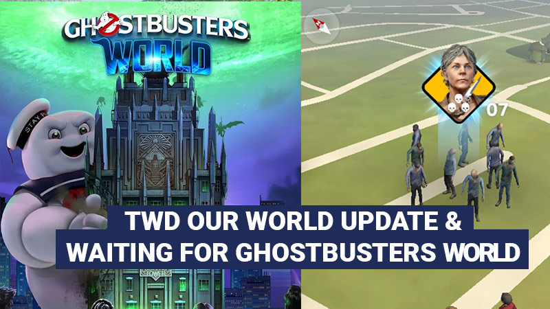 TWD Our World and Ghostbusters World games