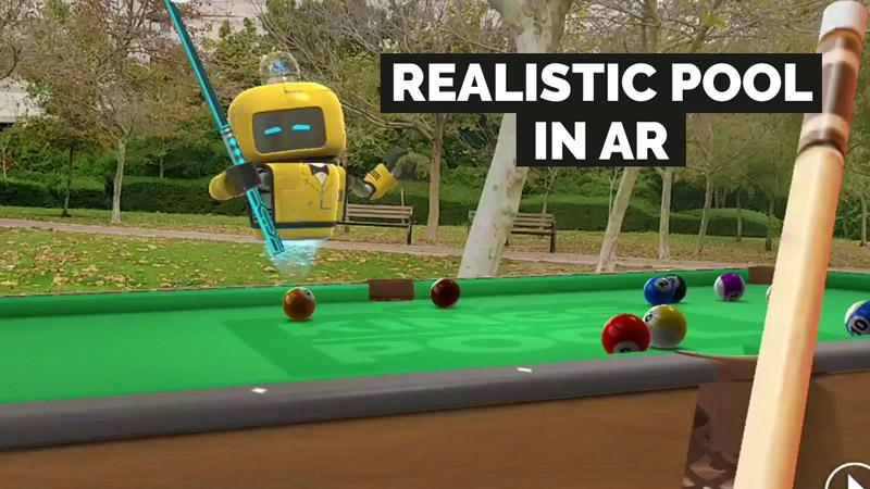 Pool in AR