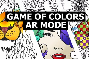 Game of Colors – AR Coloring App for Kids and Adults Alike