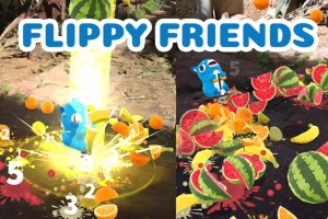 Flippy Friends – Multiplayer AR Color Matching Game