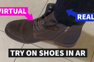 AR Shoe App – Try On Shoes at Home using Augmented Reality