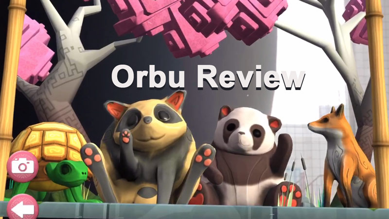 Orbu characters from the game Orbu