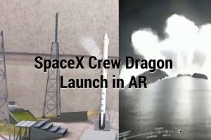 Watching SpaceX Crew Dragon Launch using 321 Launch App