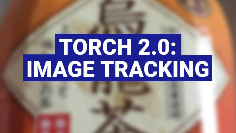 Torch AR image tracking feature