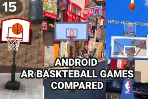 Android AR Basketball Games Compared – The Best One Is..