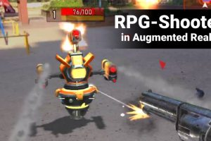 Rifters AR Multiplayer RPG Shooter – First Impressions and Gameplay Video