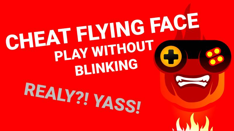 cheat in flying face