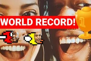 Flying Face World Record – Highest Best Score Achieved