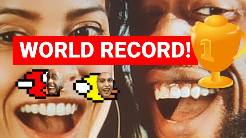 Flying Face World Record