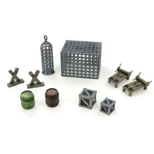 Prison / Torture Chamber Set 28mm – 10 Pieces