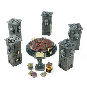 Summoning Room Model Set – 3D Printable Files – 9 STL Files