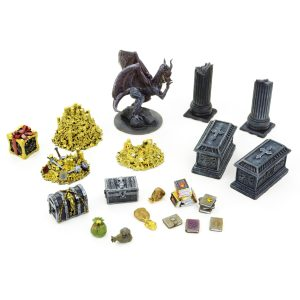 Dragons Lair / Treasure Room Set 28mm – 20 Pieces