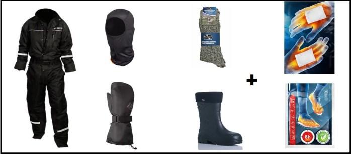 Rent winter clothes in Rovaniemi