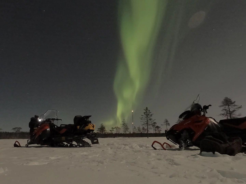 aurores boréales rovaniemi