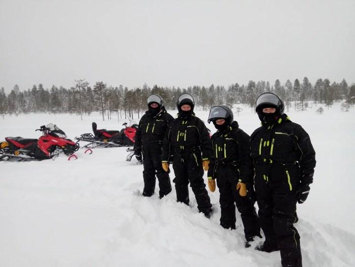 location vêtements chaud à Rovaniemi