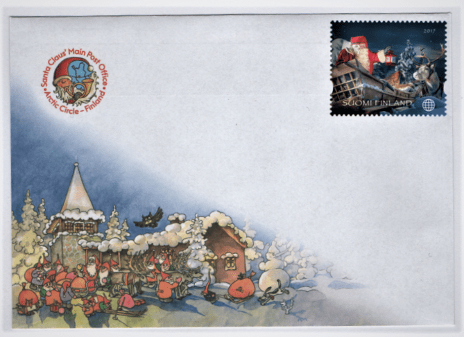 mail from santa claus village