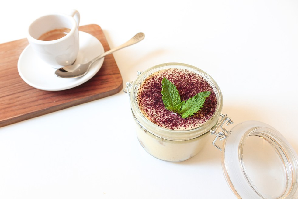 This superfood tiramisu recipe is made with Arctic Flavors wild blueberry powder, packed with nutritious and healthy antioxidants, dietary fiber, and vitamins. Unlike most tiramisu recipes, it is also 100% nut-free and safe even for those who are very allergic to tree- or peanuts.