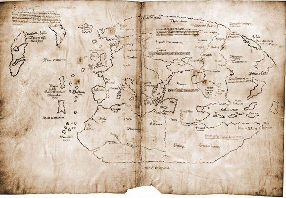 Viking Map including Baffin Island
