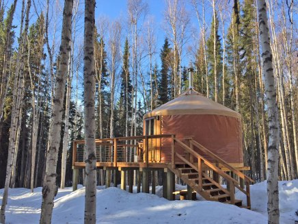 Yurt-Rental-Fairbanks-Alaska