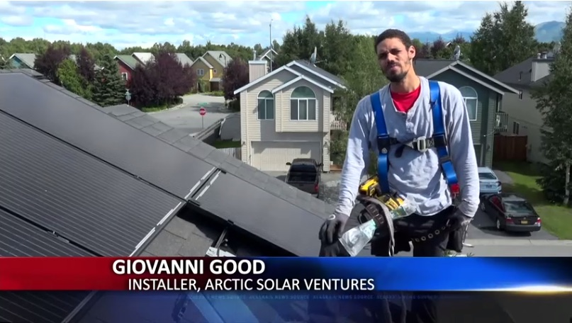 ASV in the News: The economy of sunshine - Solar boom in Alaska proves prosperous