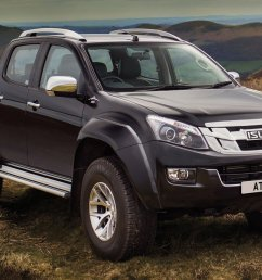 isuzu is launching the most extreme d max to bolster its already comprehensive model line up the new isuzu d max arctic trucks at35 is engineered to excel  [ 2000 x 992 Pixel ]