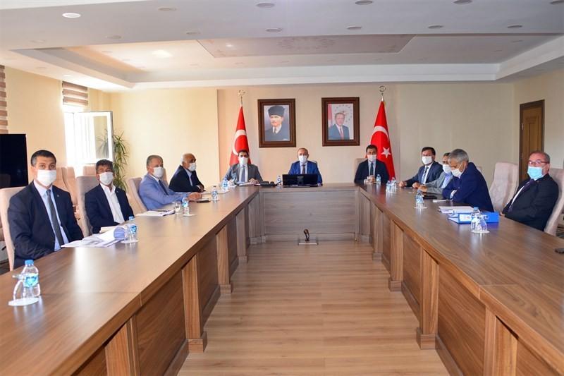 Ardahan'da Yerel Yönetimler Birliği toplantısı yapıldı