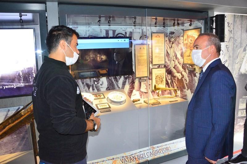 Çanakkale Savaşları Mobil Müzesi Ardahan'da