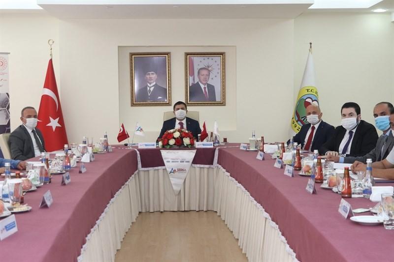 Vali Hüseyin Öner, Serhat Kalkınma Ajansı'nın 75. olağan yönetim kurulu toplantısına katıldı