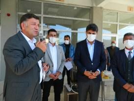 Posof'ta TOKİ konutlarında anahtar teslim heyecanı