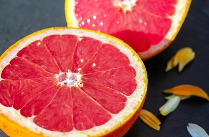 Grapefruit peel